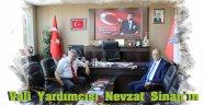 Vali Yardımcısı Nevzat Sinan'ın Veda Ziyareti