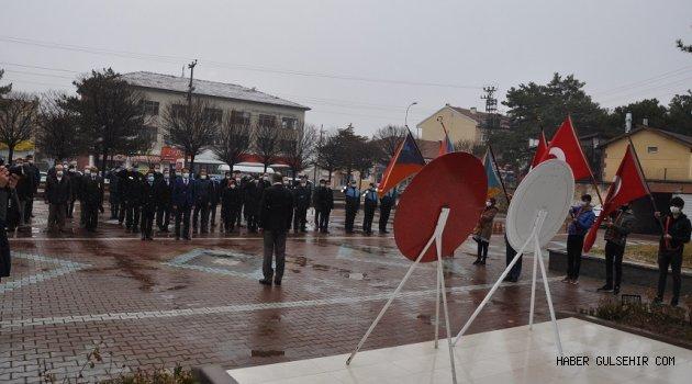 Tarihin Akışını Değiştiren Destan İçin Gülşehir'de Tören Düzenlendi.