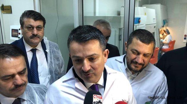 Tarım ve Orman Bakanı Pakdemirli Nevşehir'de