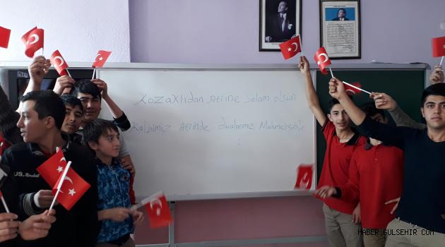 TÜGVA Kozaklı Temsilciliği ''Kalbimiz Afrin'de Dualarımız Mehmetçikle'' Konulu Etkinlik Düzenledi.