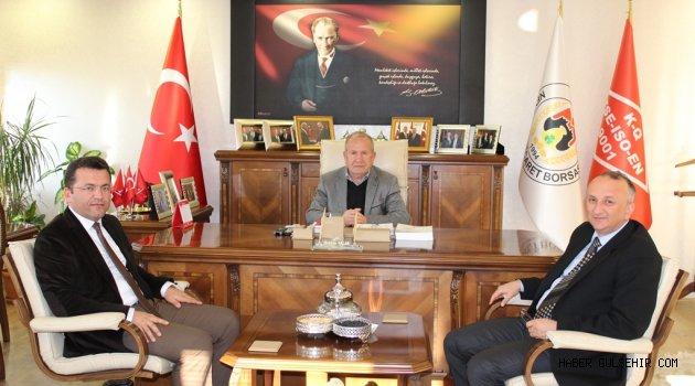 TÜİK Nevşehir Bölge Müdürü Öz, Başkan Salaş'ı Ziyaret Etti.