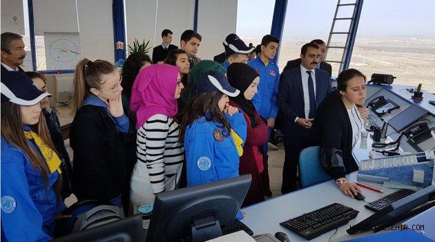 Türk Hava Kurumu Genç Kanat Öğrencilerinden, Kapadokya Havalimanına Ziyaret