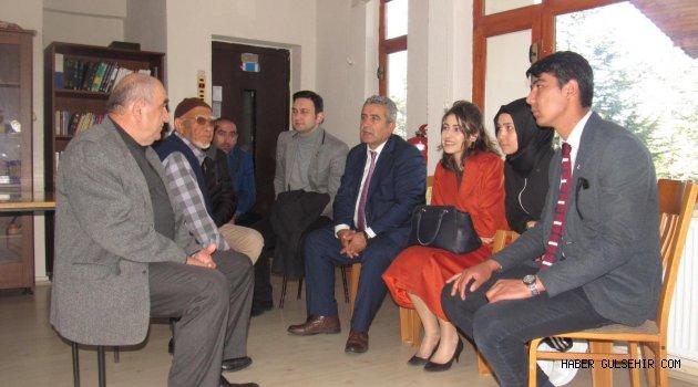 Türkçe Öğrenen Yabancı Uyruklu Öğrenciler Huzurevini Ziyaret Ettiler