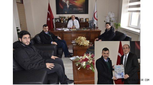 Türkiye Gençlik Vakfı(TÜGVA)'ndan, Ünlübay'a ziyaret.