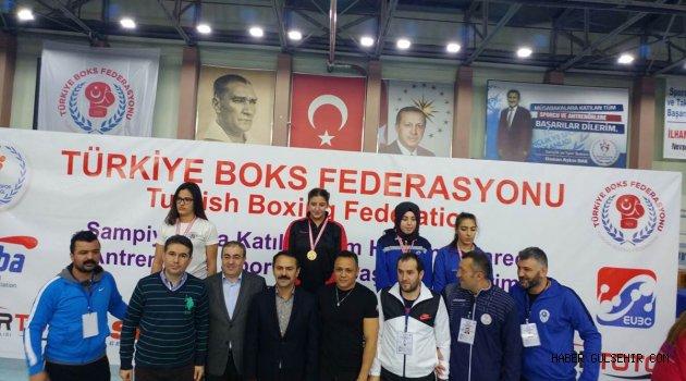 Türkiye Kadınlar Boks Şampiyonası Nevşehir Kapadokya'da Tamamlandı.