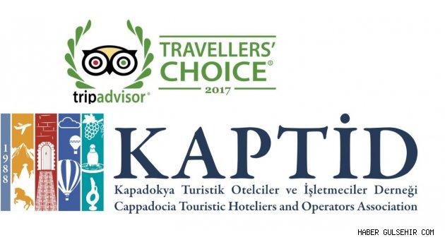 Türkiye'nin En İyi Otelleri Arasında 2 KAPTİD Üyesi.