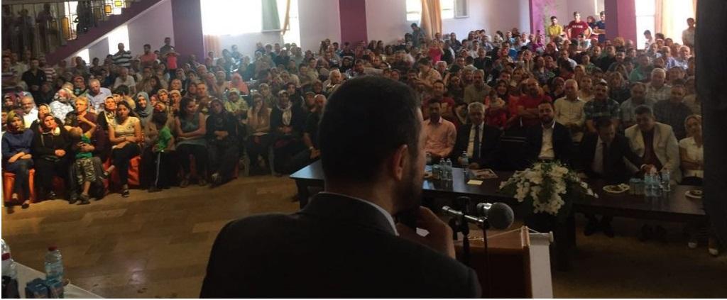 """AÇIKGÖZ """"Gülşehir' e Yakışan Gül Gibi TOKİ Konutlarımız Hayırlı Olsun"""""""