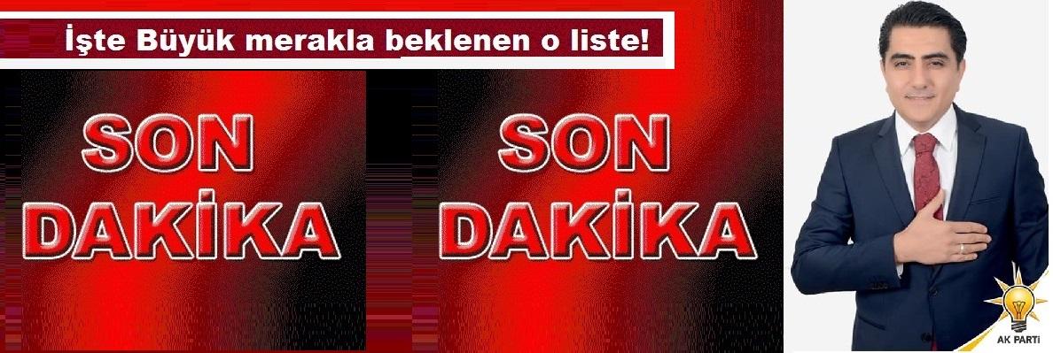 Ak Parti Gülşehir Belediye Meclis Üyesi Adayları Belli Oldu! SON DAKİKA