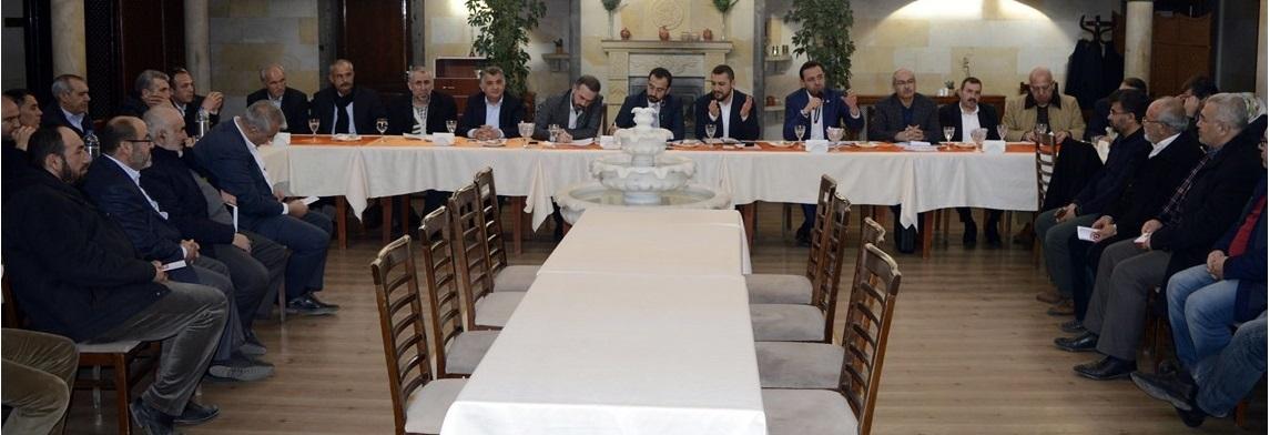 AK Parti Nevşehir İl Teşkilatı, Halk Oylaması Öncesi STK'lar İle Bir Araya Geldi.