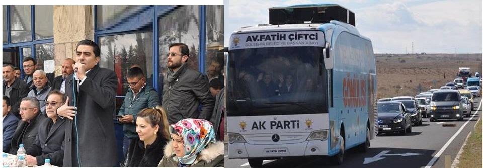 Karacaşar Mahallesine Konvoylu Ziyaret. VİDEO HABER