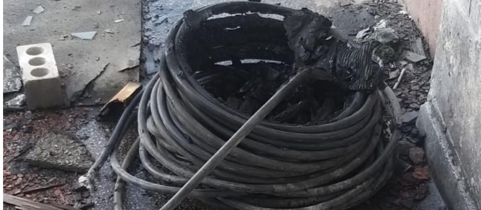 Kurşunlu Camiden Kablo Çalan Hırsızlar Kıskıvrak Yakalandı.