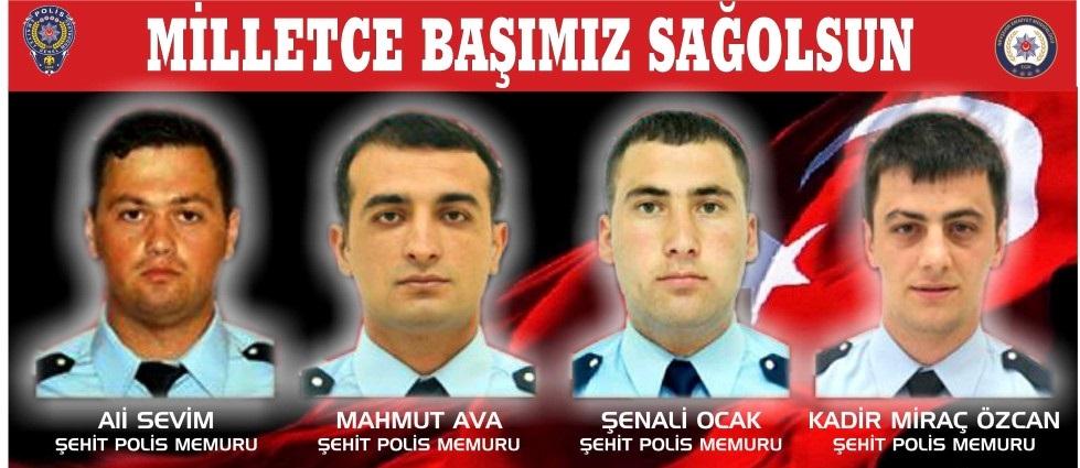 Nevşehir Emniyet Müdürlüğü; Milletçe Başımız Sağolsun...