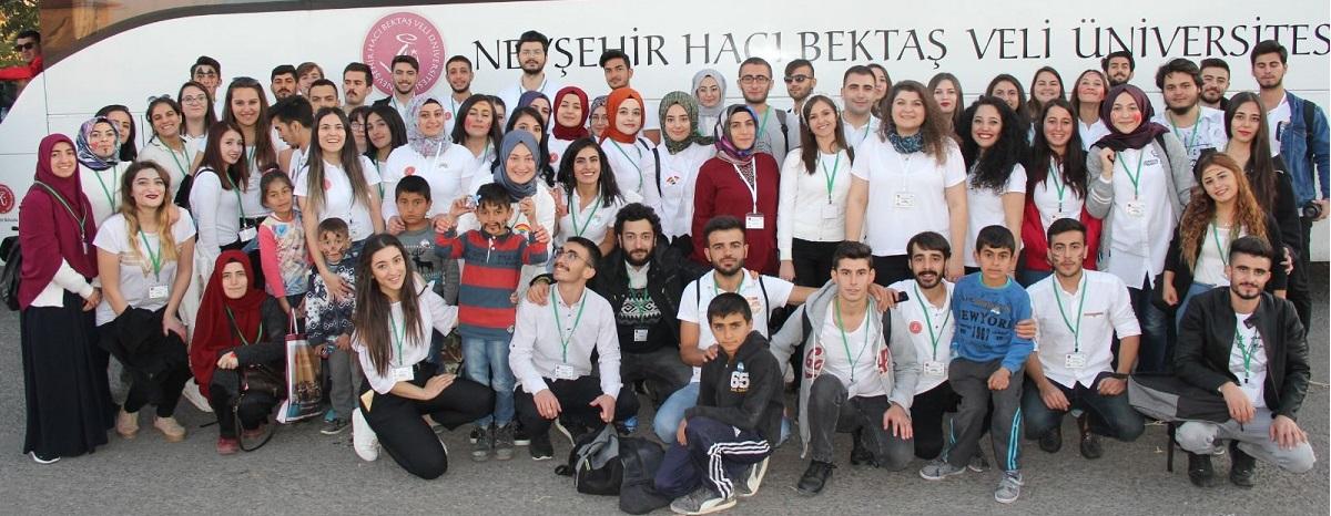 NEVÜ Engelsiz Üniversite Biriminden 'Gökkuşağı Projesi'