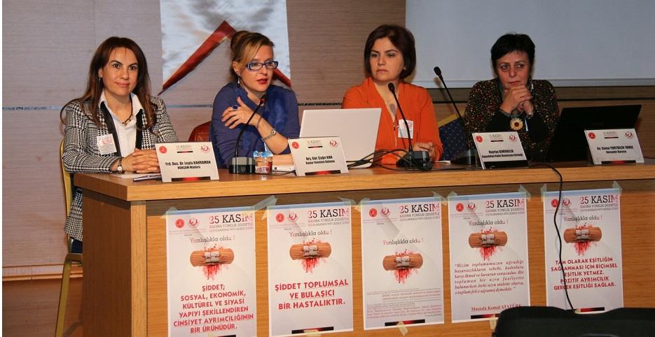 NÜKÇAM'dan 'Kadına Yönelik Şiddete Karşı Uluslararası Dayanışma ve Mücadele Günü'