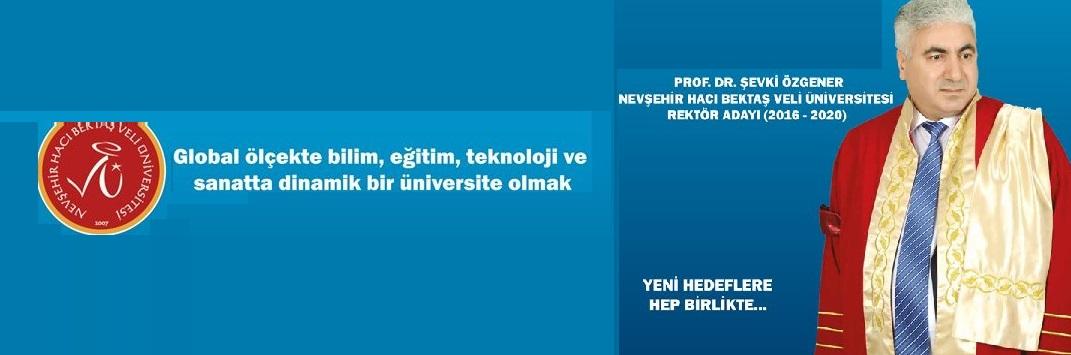 Prof. Dr. ÖZGENER NEHÜ Rektörlüğüne Aday Olduğunu Açıkladı.