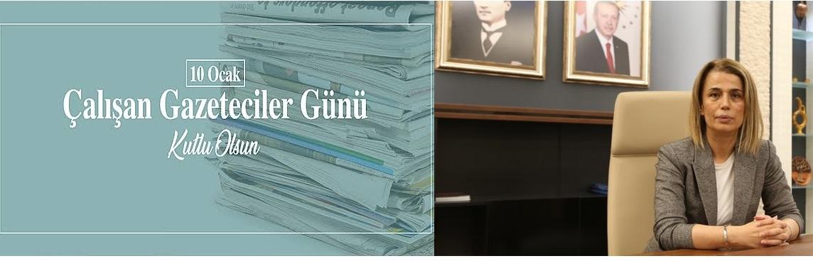 Vali İnci Sezer Becel'in '10 Ocak Çalışan Gazeteciler Günü' Mesajı