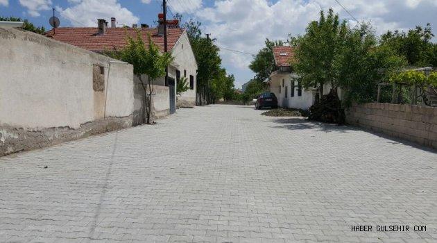 Uçhisar Belediyesi yol çalışmalarına devam ediyor.