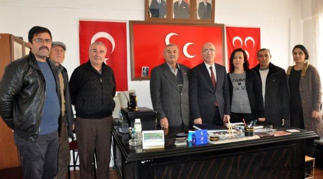 Uğur'dan Gülşehir MHP'ye Açık Destek