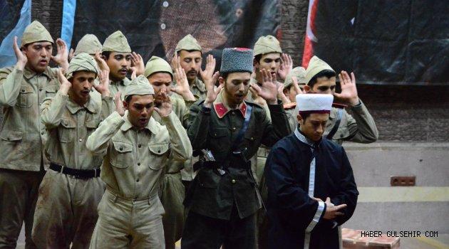 Ülkü Ocakları'ndan anlamlı tiyatro gösterisi