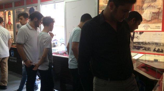 Ülkücü Gençler, Çanakkale tırını gezdi