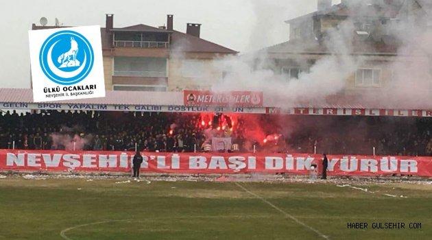 Ülkücülerden Nevşehirspor'a tam destek