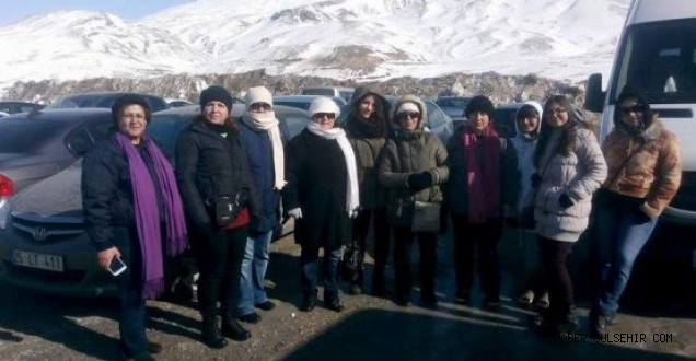 Ürgüp CHP İlçe Kadın Kolları Gezi Düzenledi