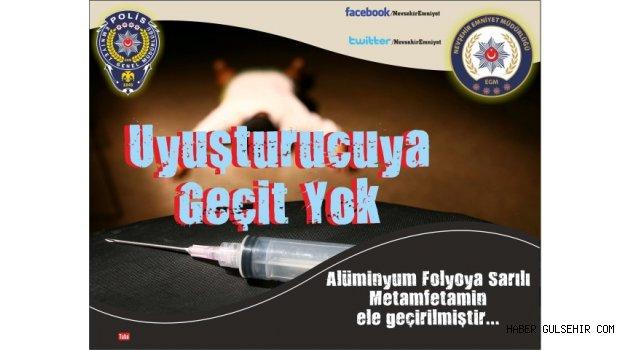 Uyuşturucuya Geçit Yok, Alüminyum Folyoya Sarılı Metamfetamin Yakalandı