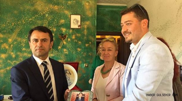 Vali AKTAŞ, Kapadokya Genç İş Adamları Derneğini (GİAD) ziyaret etti.