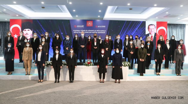 Vali Becel, Kadına Yönelik Şiddetle Mücadele Mülki İdare Amirleri Eğitim Seminerine Katıldı.