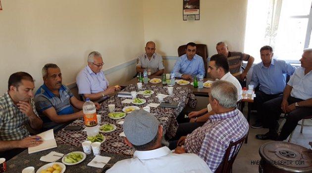 Yeşilöz Köyünde Güvenlik ve Halk Toplantısı Gerçekleştirildi.