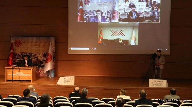 YÖK Başkanı Saraç NEVÜ Senato ve Yönetim Kurulu Toplantısına Katıldı