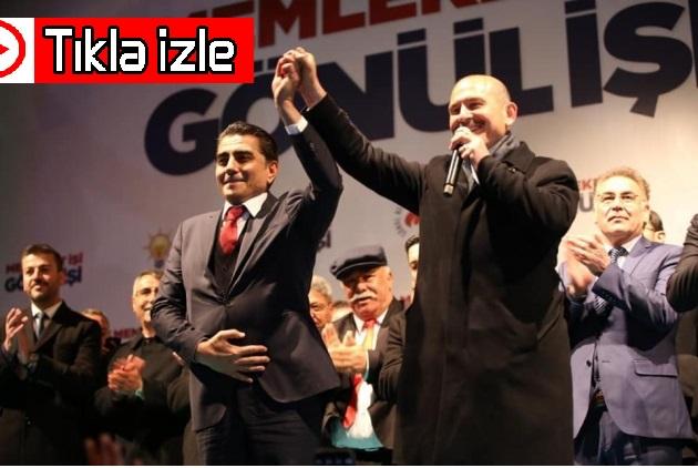 İçişleri Bakanı Süleyman Soylu; ''Fatih Çiftçi'nin Emrindeyim, Gülşehir'in Emrindeyim''. VİDEO HABER