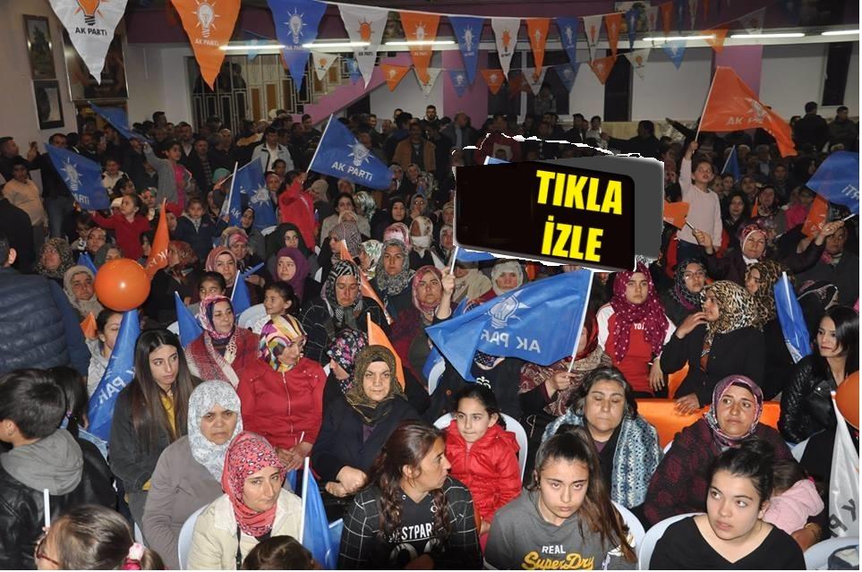 Ak Parti Gülşehir'de 3BiN Kişi İle Gövde Gösterisi Yaptı. VİDEO HABER