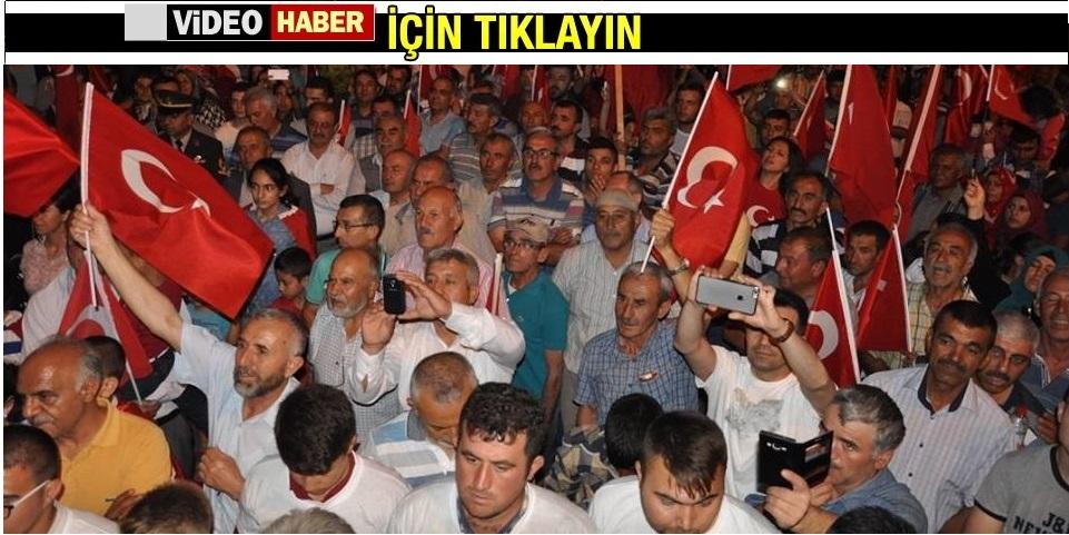 Gülşehir'de Demokrasi Mitingi Düzenlendi! VİDEO HABER