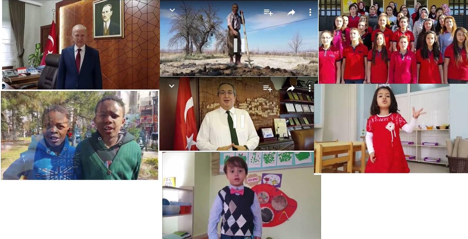 Nevşehir'den Ses Getiren İstiklal Marşı Videosu! Türkiye ve Dünyada Büyük Beğeni kazandı.