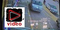 Gülşehir deki Motorsiklet Kazası Güvenlik Kamerasına Yansıdı